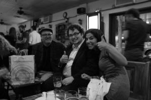 John Reid Currie, John Rice, and Camila Santos